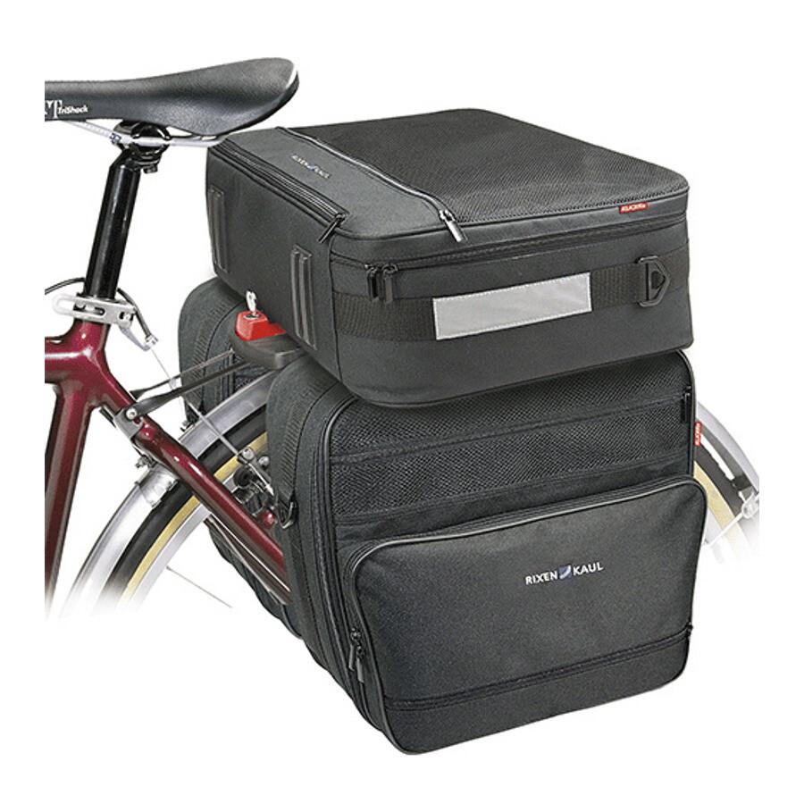 KLICKFIX set de voyage GTA avec adaptateur 2018 Sacs pour porte-bagages 0DJ5boP